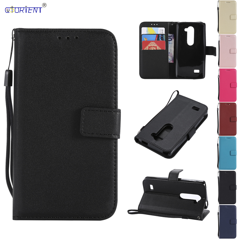Leather Wallet Flip Case for <font><b>Funda</b></font> <font><b>LG</b></font> <font><b>Leon</b></font> C40 C50 <font><b>4G</b></font> <font><b>LTE</b></font> H340N H320 H 324 H324 Silicone Phone Case Back Cover With Card Slots image