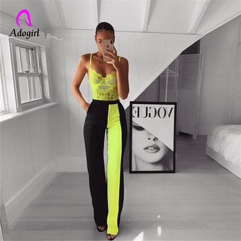 цена Black Modern Lady Elegant Minimalist Straight Pants Middle Waist Casual Women Pants Summer Autumn Office Lady Workwear Trousers онлайн в 2017 году