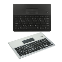 Ultra Thin Slim Colorful 7 Color LED Backlit Wireless Universal Keyboard With Hidden Stand Compatible With