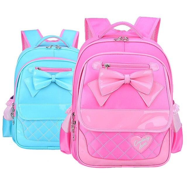 New 2017 Lovely Girls Princess School Bags Cute Children Backpacks For Girls School Bag Girl Baby School Backpack Kids Satchel