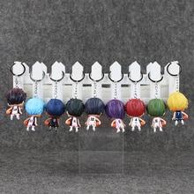 Anime Kuroko's 9Pcs/Lot Basketball Kuroko no Basuke Mini PVC Figure Toy