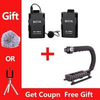 Boya BY WM4 Professional Wireless Microphone With Receiver And Transmitter For Canon Sony DSLR Camcorder Recorder