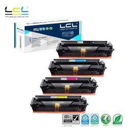 LCL 202A 202X CF500A CF500X CF501X CF502X CF503X (1 Pack K/C/M/Y) kaseta z tonerem kompatybilny do HP color laserjet Pro M254dw w Kasety z tonerem od Komputer i biuro na
