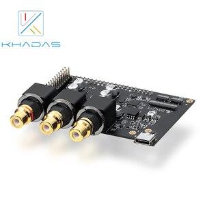 Image 1 - Khadas טון לוח ES9038Q2M USB DAC היי Res אודיו פיתוח לוח עם XMOS XU208 128 QF48