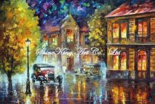 palette knife oil painting  modern oil painting canvas oil painting  K466