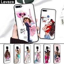Lavaza Baby Mom Girl Queen Coque Silicone Case for Huawei Mate 10 Pro 20 30 Lite Nova 2i 3 3i 4 5i Y6 Y5 Y9 2019 Y7 Prime