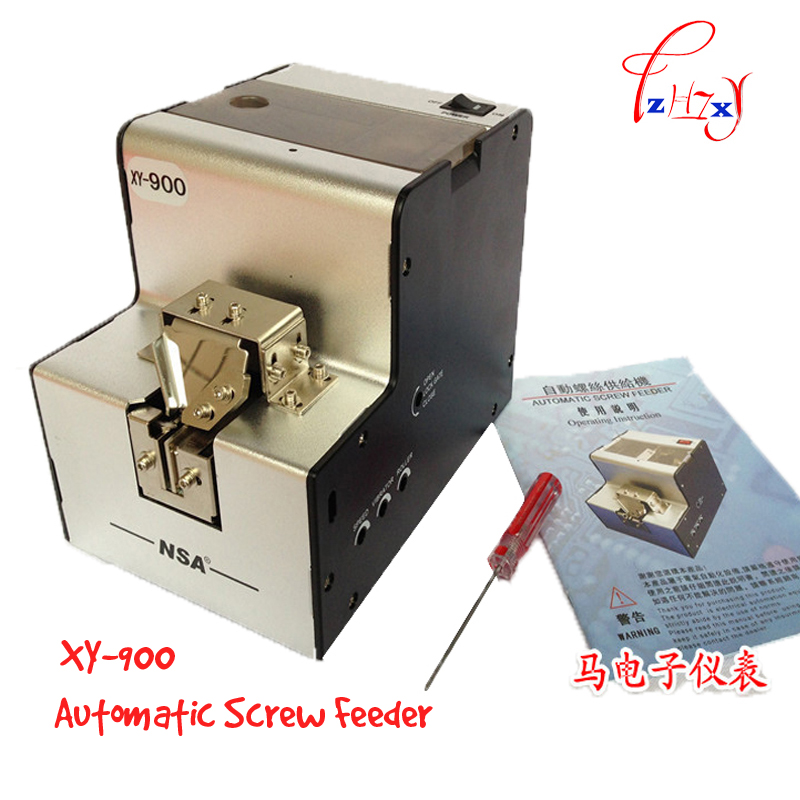 high quality XY-900 screw dispenser,Automatic Screw Feeder Supplier 1.0-5.0mm Adjustable 1pc brand new smt yamaha feeder ft 8 2mm feeder used in pick and place machine