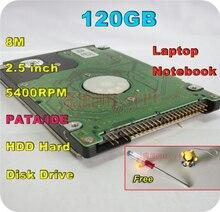 2.5 «HDD PATA IDE 120 ГБ 120 г IDE 5400 об./мин. 8 м внутренний жесткий диск ноутбук бесплатная доставка Отвертка Бесплатная