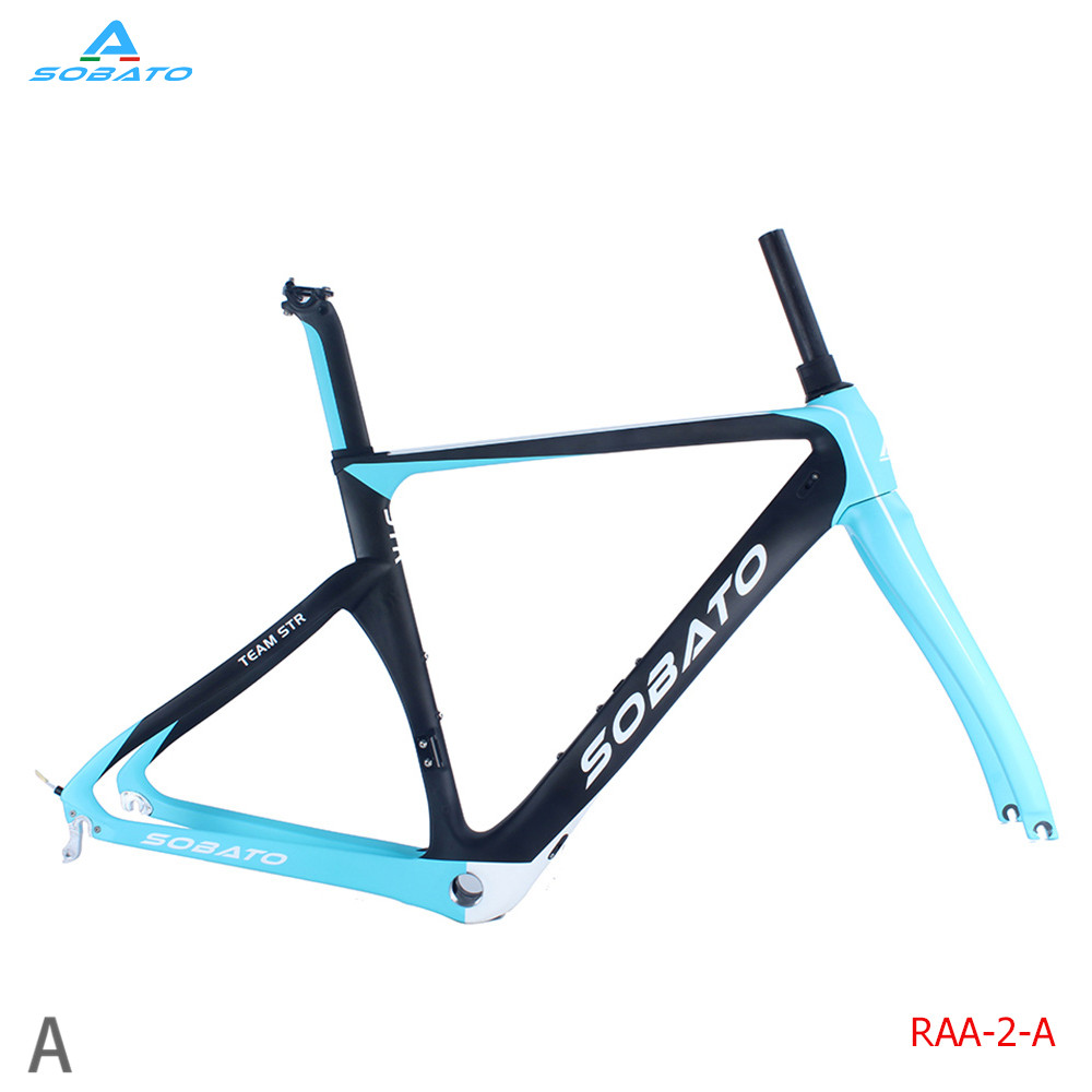 Full Carbon Cyclecross Bicycle Road Framesets with Disc Brake 46/49/52/54/56/58cm