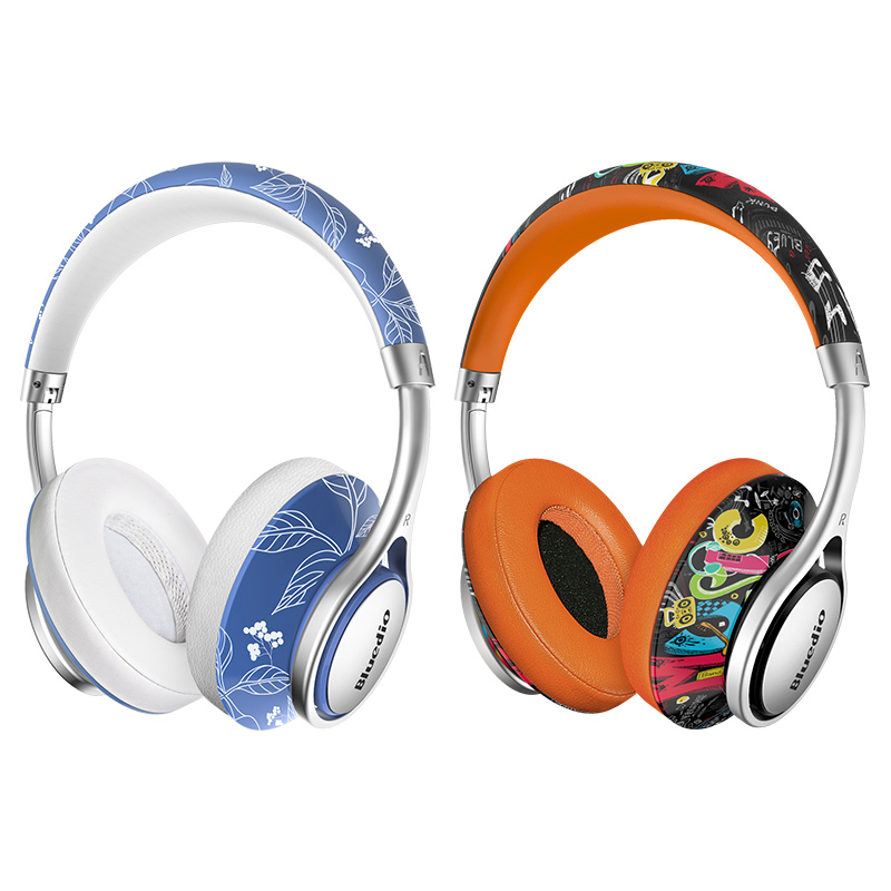 bluedio air series a/a2 fashionable bluetooth headphones for phones and music