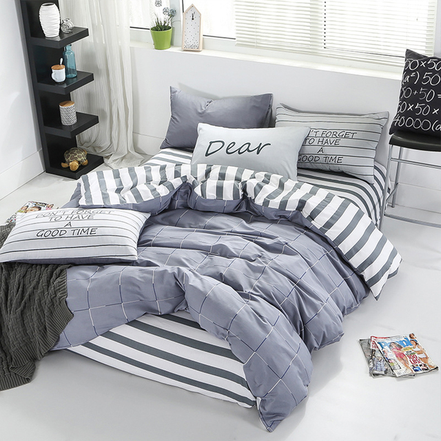 Printed Cotton Bed Linen Set