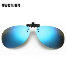 цена на New Oval Polarized Clip On Sunglasses Women Men Oversized Sun Glasses Driving Fishing Polarized Mirror Lens Anti-UVA Anti-UVB