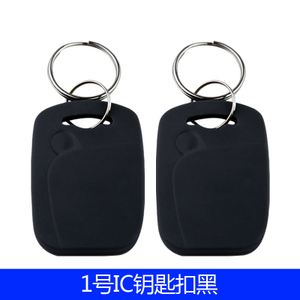 Image 3 - 100 Pçs/lote 13.56 MHZ RFID IC Card Token para Tag Chaves Keyfobs para Controle de Acesso de Entrada Mechine