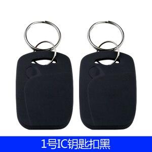 Image 3 - 100 Pz/lotto 13.56 MHZ RFID IC Scheda Token Tag Keyfobs Chiave per il Controllo di Accesso Ingresso Mechine