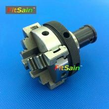 FitSain — Aplicável ao eixo do motor diâmetro 8mm/10mm Quatro mandíbula chuck D = 50mm