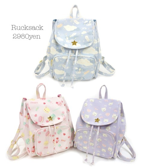 Sac japonais célèbre de conception de femmes impression florale mignonne soeur douce Harajuku sac à bandoulière livre sac d'école impression de bande dessinée