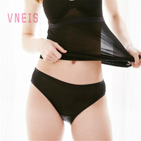 VNEIS Women Panties 100 Natural Mulberry Silk Anti Microbico Sexy Knitting Underwear Lingerie Calcinha Briefs Culotte