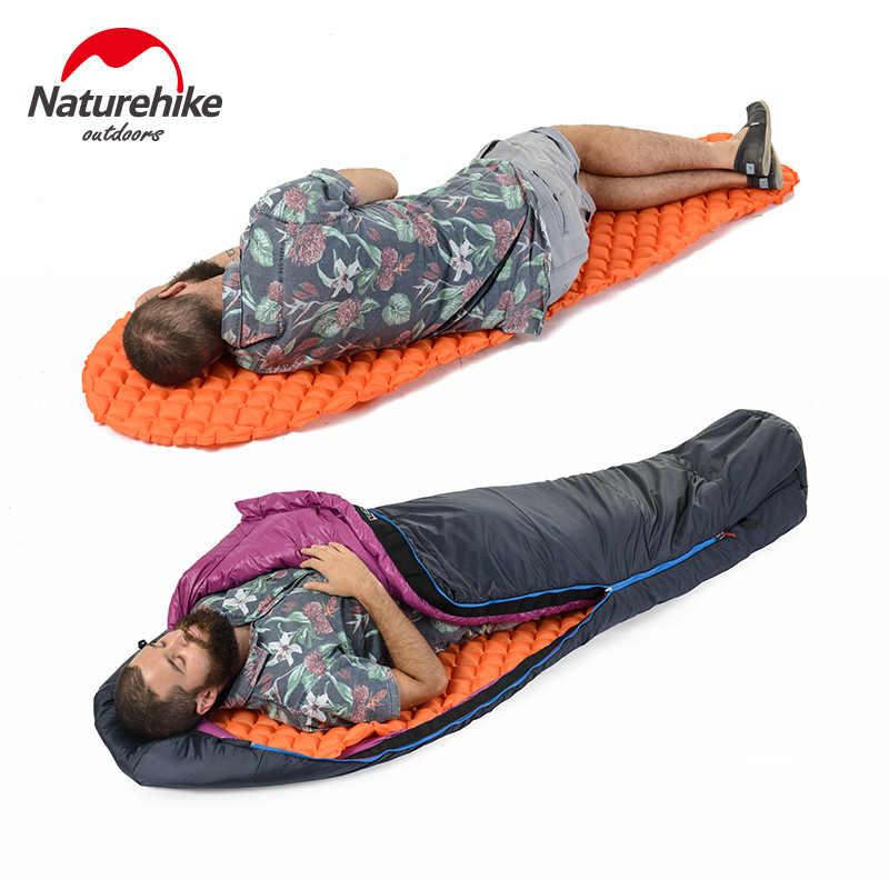 Naturehike открытый надувные один Мумия Коврик походная Подушка влагостойкий воздуха кровать коврики супер легкий портативный 380 г
