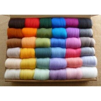 30 цвета тыкать мериносовая шерстяная пряжа для вязание кашемир