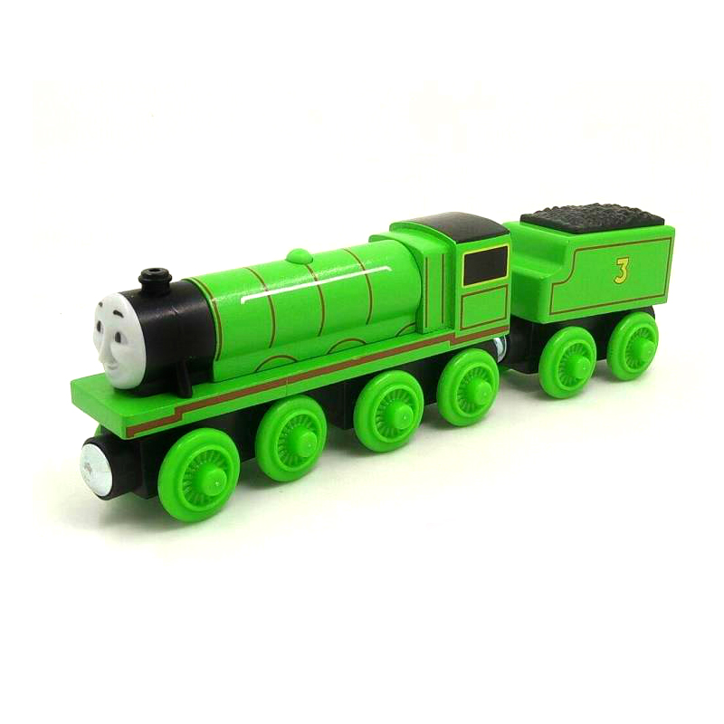 W70 free shipping RARE Original HENRY & TRUCK Thomas And Friends Wooden Magnetic Railway Model Train Engine Boy/Kids Toy