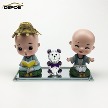 free combination car doll creative decoration Car Ornaments Auto Interior Decorations accessories Crystal Material