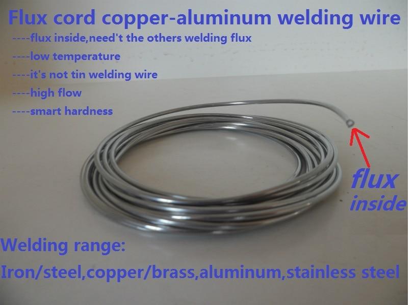 Low Temperature Flux Cored Copper Aluminum Welding Wire/welding Rod