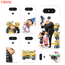 Minions Gru Agnes Soft TPU Fit Phone Case For LG V40 G6 G7 Q6 Q8 Q7 G5 G4 V30 V20 V10 K8 K10 2018 2017 Customized Cases Coque