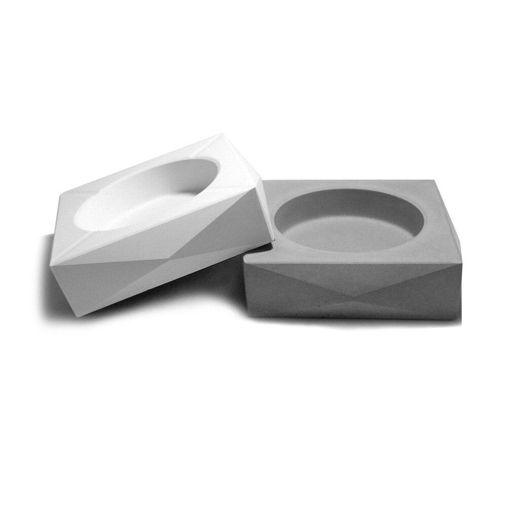 Moules et formes en béton carré cendrier moule bricolage silicone artisanat moules