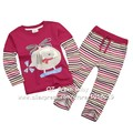 New 2017 Brand Quality 100% Cotton Baby Girls Children Suits 2pcs Kids Toddler Clothing Long Sleeve Clothes Sets Girls Baby Sets