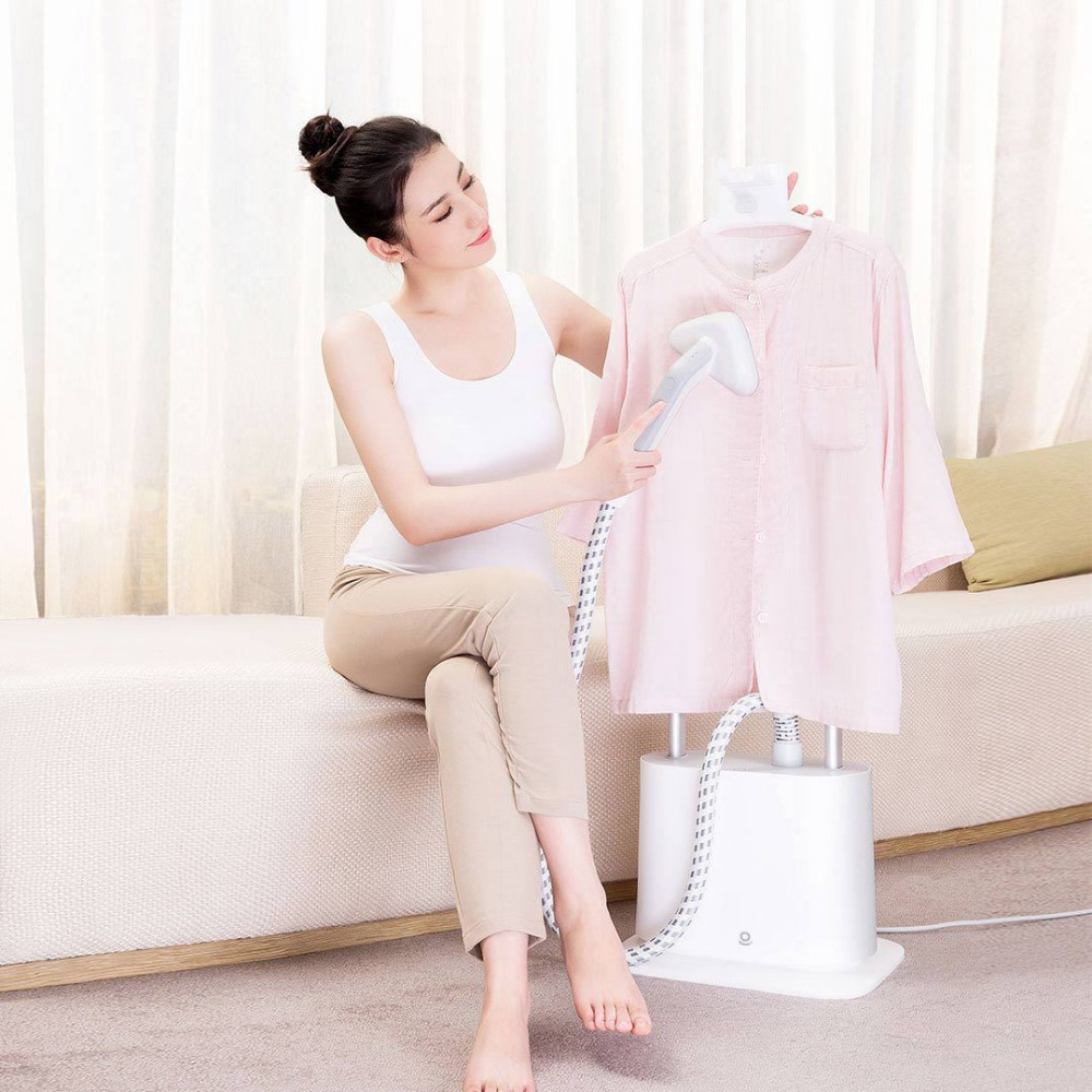 Image 2 - XIAOMI MIJIA LEXIU Rosou GS1 Garment Steamer iron Household Double Pole Vertical Electric Clothes generator Hanging Ironing-in Garment Steamers from Home Appliances