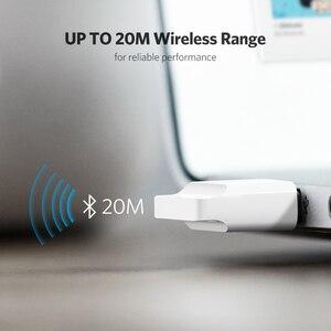 Image 5 - Ugreen USB Bluetooth משדר מקלט 4.0 מתאם Dongle aptx אלחוטי אוזניות מחשב קולט מוסיקת אודיו Bluetooth Adaptador