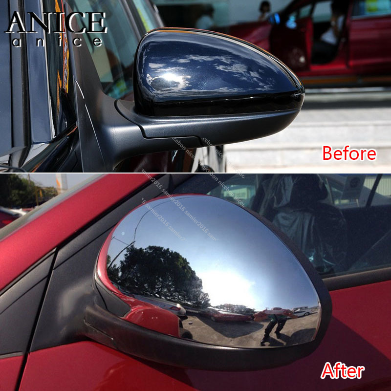 fit For Chevrolet Cruze 2010-2015  Chrome Rear View Side Mirror Cover