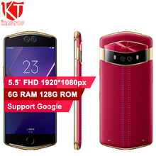 Original Meitu V6 Mobile Phone 6GB RAM 128GB ROM MT6799 Deca Core 5.5 inch Dual Front&Rear Camera Quick Charge 4G Camera Phone