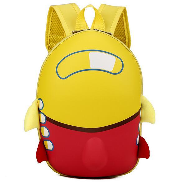 Joyloading 3D Cartoon Waterproof Rocket Design Kids Backpack Students  Preppy Schoolbag Children Pack b55d5cc0f9