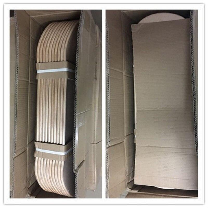 "Купить с кэшбэком 8"" DIY Blank Skateboard Decks 10pcs Lot Blank Sakteboard Deck Double Concave Kick Deck 7ply Canadian Maple 8""X31""Double Rocker"