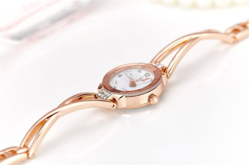 New Fashion Rhinestone Watches Women Luxury Brand Stainless Steel Bracelet watches Ladies Quartz Dress Watches reloj mujer Clock 16