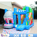 Toys and Games Outdoor inflatable jumping bouncer slide for children