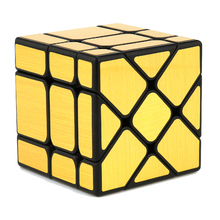 MoYu MF8833 Fisher Mirror Funny Twisted Magic Cube Puzzle Toy for Challange