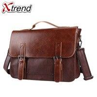 2018 Xtrend Brand Bolso Hombre Leather Bag Men Crossbody Bags Messenger Men S Travel Shoulder Bags