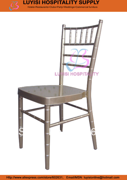 Champagne aluminum tiffany chair strong comfortable fashionChampagne aluminum tiffany chair strong comfortable fashion