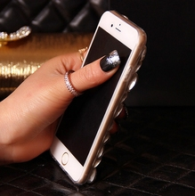 Premium kryształowe etui z lisem do iPhone