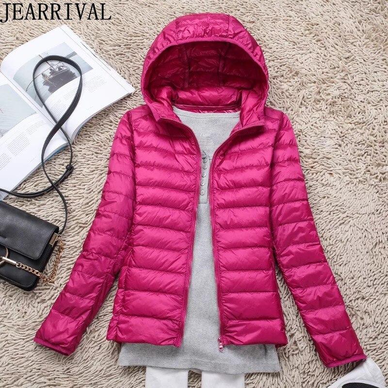 2019 New Fashion Winter   Jacket   Women Hooded Parkas Solid Color Slim Casual Padded Cotton Winter Coat Female Short   Basic     Jacket