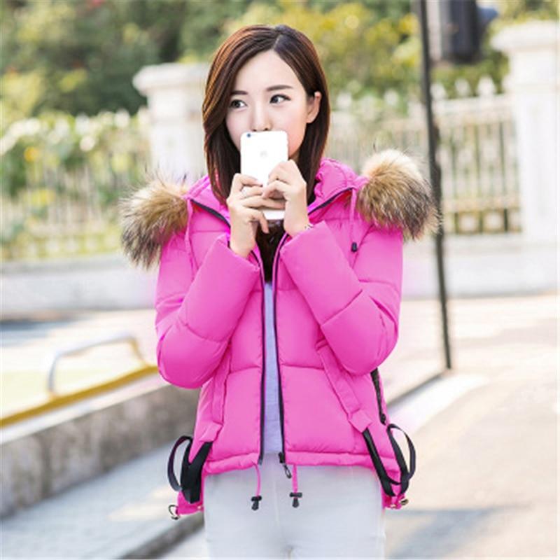 De Femmes Hiver J628 Bonbons black pink Taille Vers Veste Grande Beige Le Court Fourrure Couleur Nouvelle sky Mode Mince Manteau Vêtements Automne Et Blue Col Bas CqwR85xPv
