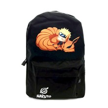 MeanCat Naruto Backpack Hokage School Travel Laptop Bag for Teenagers Japanese Anime Oxford Boys Girls Schoolbag