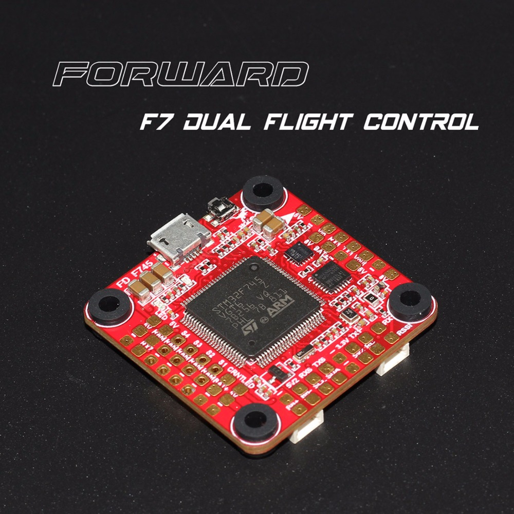HGLRC Forward F7 V2 Dual Gyro 3 6S Flight Controller STM32F745 OSD w/5V/3A 8V/1.5A BEC 10.2G 30.5x30.5mm for RC Drone Quadcopter-in Parts & Accessories from Toys & Hobbies    2