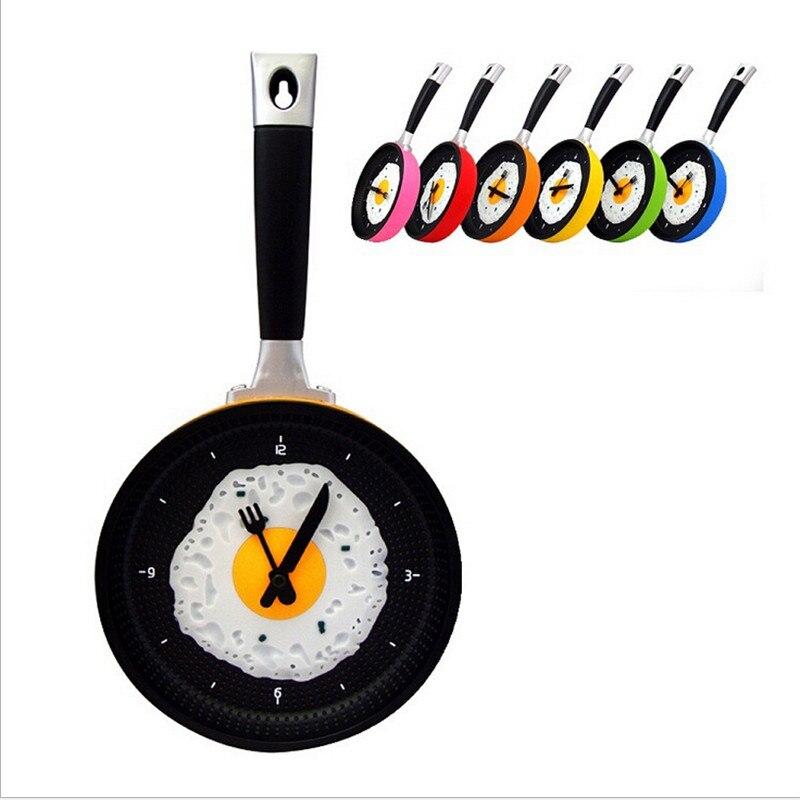 alta calidad diseo sartn cm relojes de metal reloj de pared decoracin de la cocina