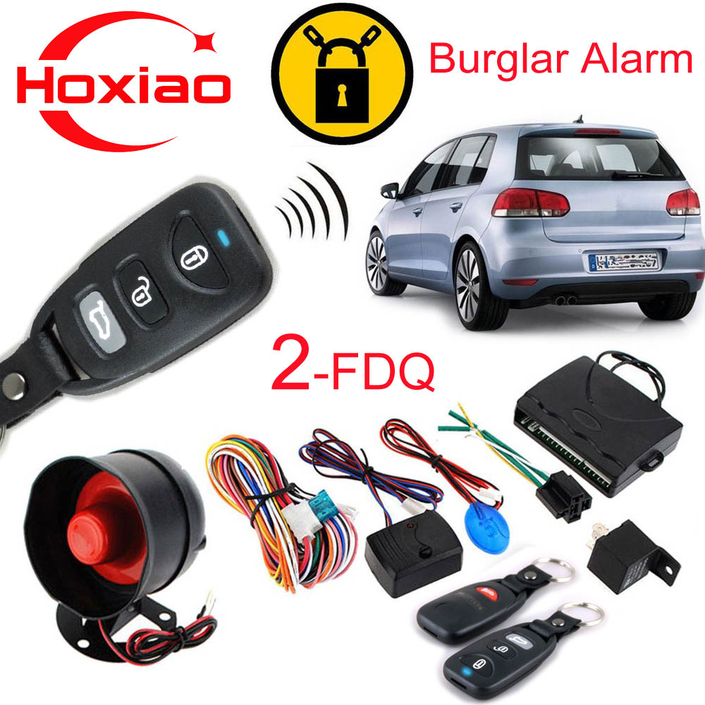 car safety alarm system burglar alarm one way auto central door locking security key with remote. Black Bedroom Furniture Sets. Home Design Ideas