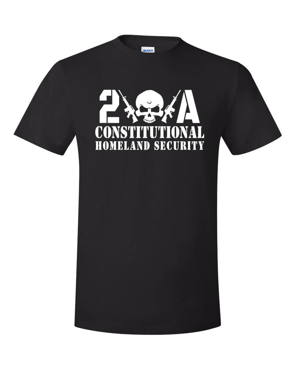 2019 Fashion Summer Style Constitutional Security Shirt NRA Gun Rights Molon Labe Liberty Justice CCW Tee Shirt image