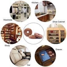 12 pcs Household Essentials Cedar Fresh Red Cedar Wood Rings for Hangers