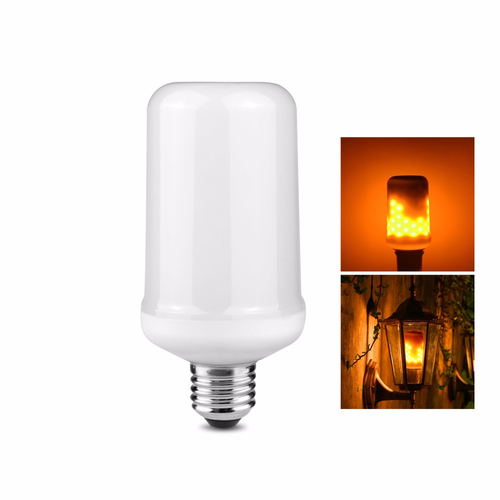 Flame Led Lamp E27 Novelty Light Led Lamp E27 E26 Dynamic Flame Light Flickering